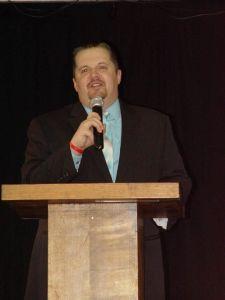 Hosting the 2013 War Wrestling Hall of Fame Ceremony