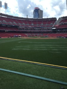 My view from the batters eye in centerfield.