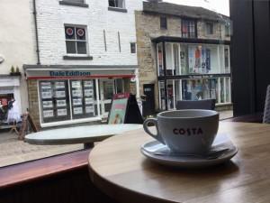 Latte at Costa