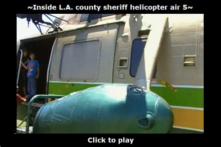 Inside Michael Jackson's helicopter