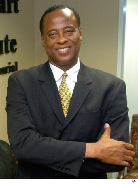 Michael Jackson's doctor Conrad Murray