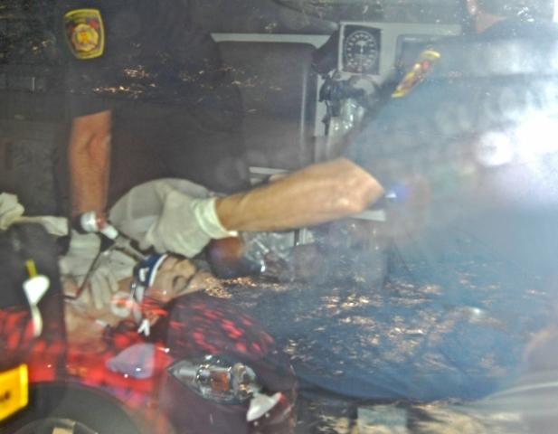 Michael Jackson ambulance photo
