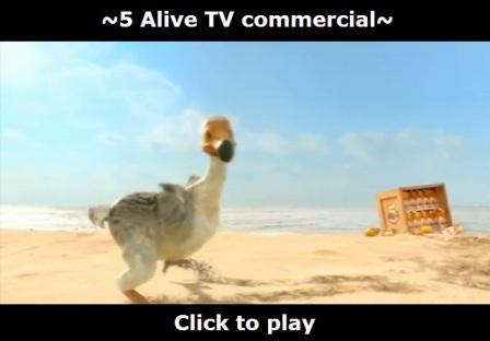 5 alive TV commercial