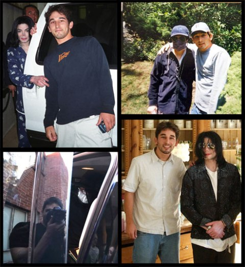 Michael Jackson and Ben Evenstad