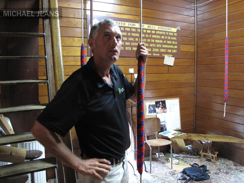 Phillip Coles Bell ringer St Andrews Church Cambridge 23/2/2011