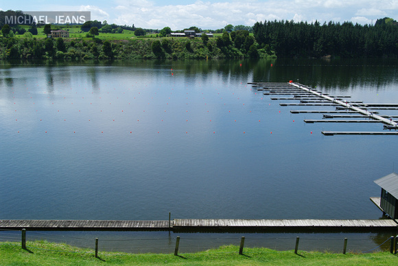 Lake Karapiro Domain also known as Mighty River Domain, Karapiro, New Zealand