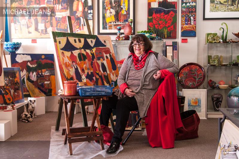 Carole Hughes, Heritage Gallery, Victoria Street, Cambridge NZ