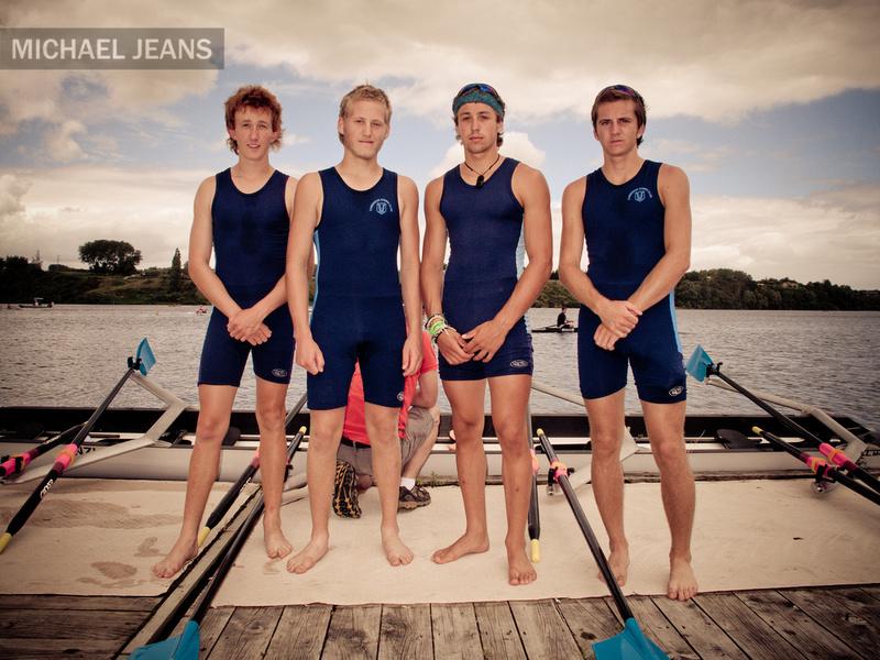 A Cambridge crew Lake Karapiro New Zealand 14/1/2012