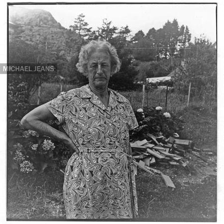 Nana - Eva Mitchell at Karangahake c.1974 - Michael Jeans