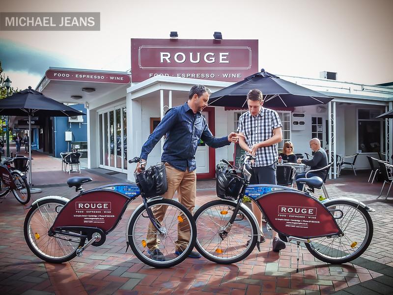 Jullian Hulls & Phil Mackay Rouge Cafe Cambridge NZ