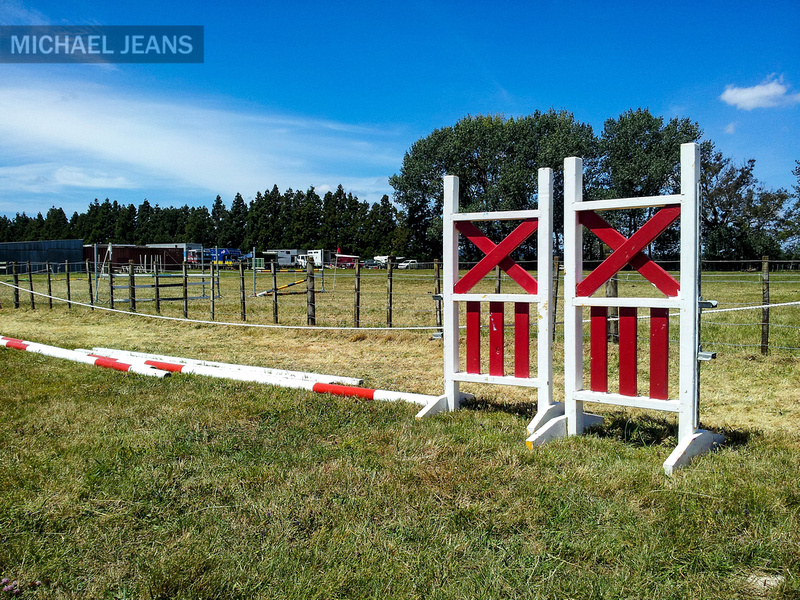 Dismantled jump. Leamington Pony Club. Cambridge NZ