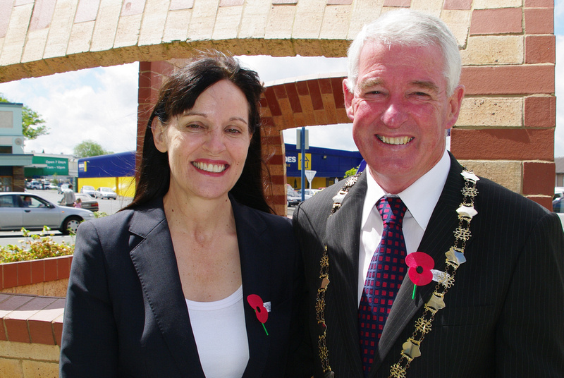 The mayors of Hamilton and Waipa