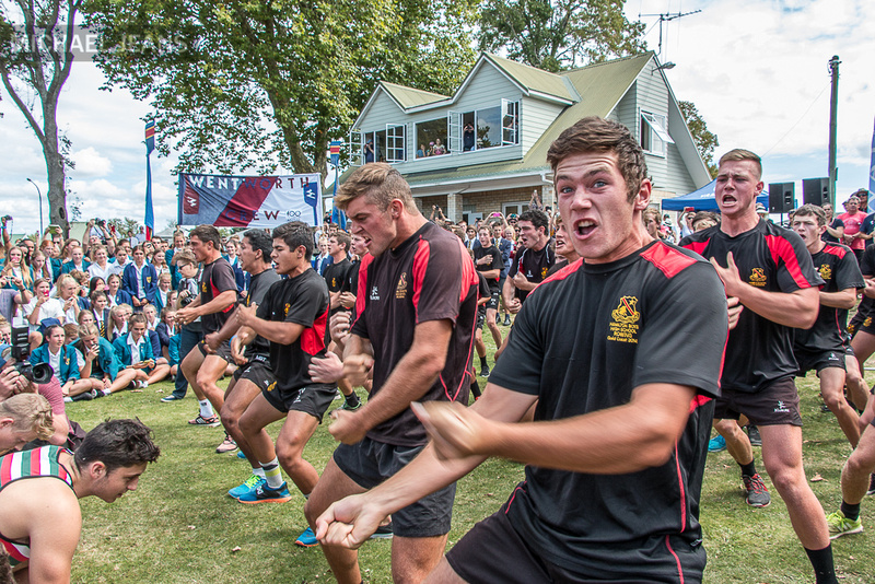 Haka, Hamilton Boys High School Rowing, Victoria Square, Cambridge NZ