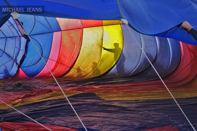 Hot air balloon Innes Common Hamilton New Zealand