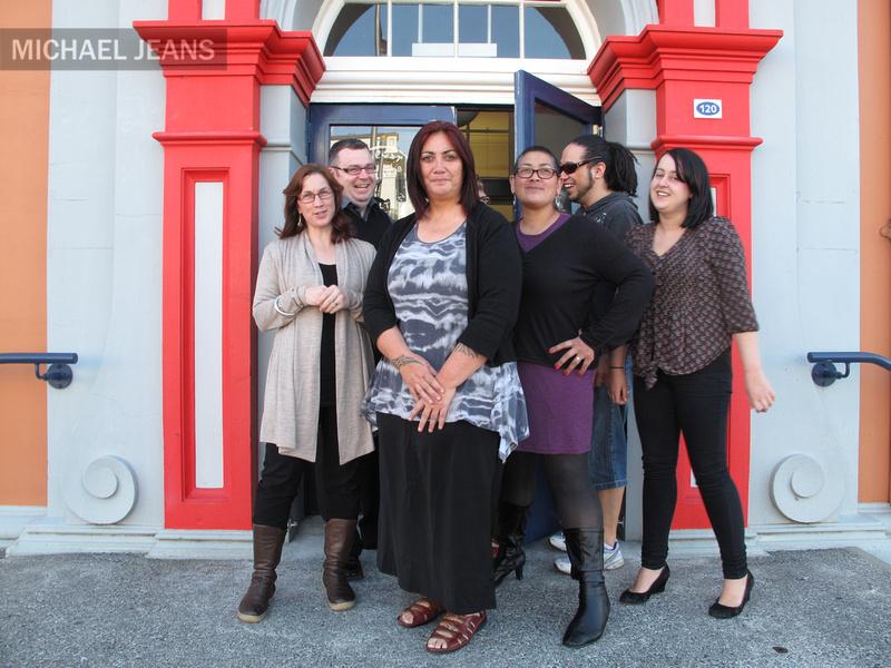 Te Whare Taonga O Waikato curatorial staff, Victoria Street, Hamilton, Waikato, New Zealand