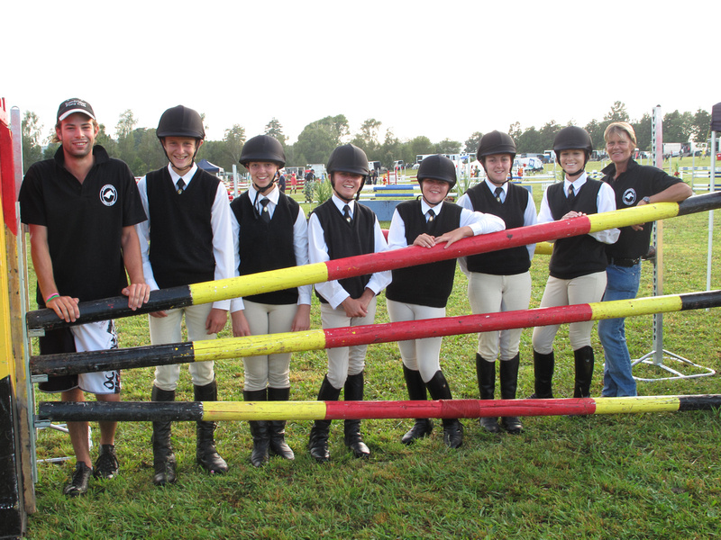 The 2010 Cambridge Team North Island Pony Club Show Jumping Championships