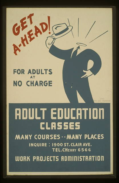 WPA-poster-adult-education-classes