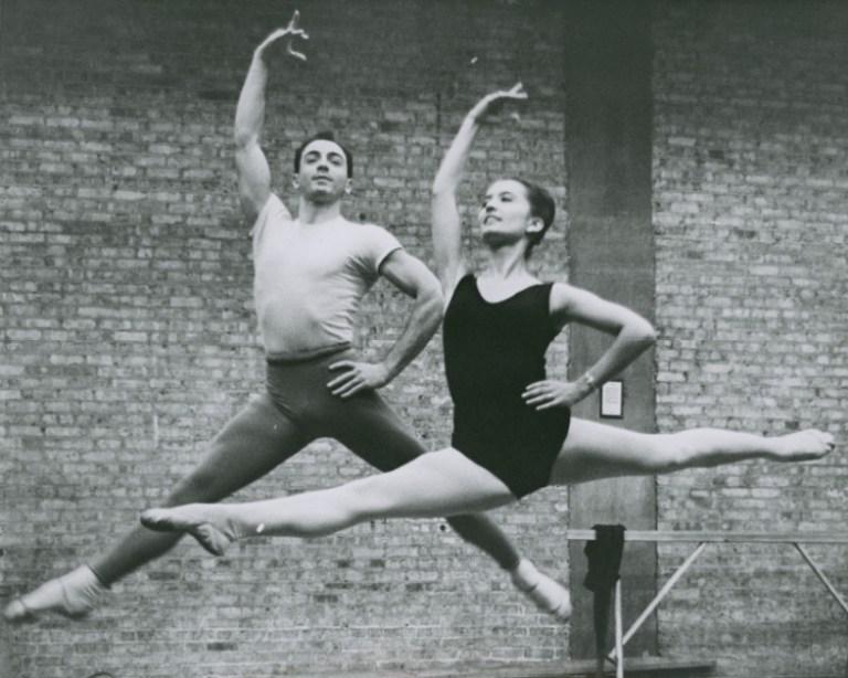 Dance MS Barzel Research Photo Bx 18, Chicago Opera Ballet, 1960