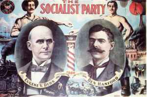 Debs 1904 Socialist Party Poster