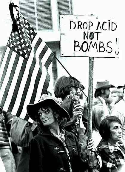Drop Acid Not Bombs, Anti-War Moratorium, San Francisco November 16, 1969 sheet 468 frame 32