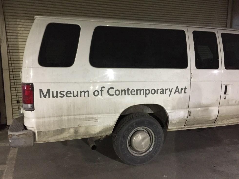 Museum of Contemporary Art Van Photo by Michael J. Kramer