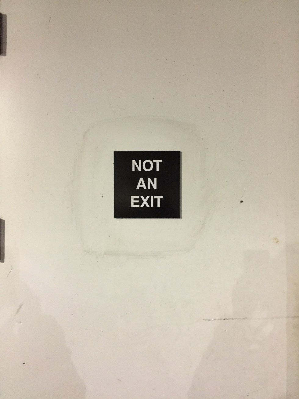 Not an Exit Photo by Michael J. Kramer