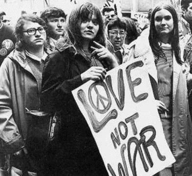 Love Not War Hippies