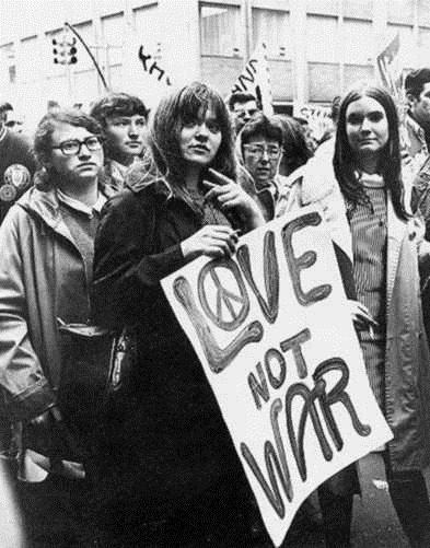 Love Not War Hippies