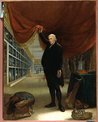 Charles Willson Peale Self Portrait of the Artist in his Museum