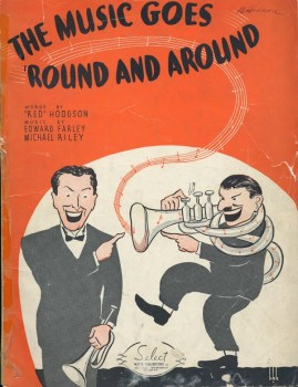 the music goes round_sheet music