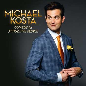 Image result for michael Kosta comedian