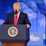 Presidente de los Estados Unidos Donald J. Trump en CPAC 2017 Crédito: Michael Vadon