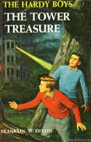 "The Hardy Boys ""The Tower Treasure"" cover"