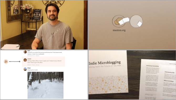 Reece Manton's Indie Microblogging project