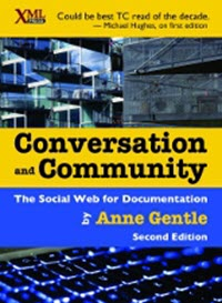Book cover: Conversation and Community