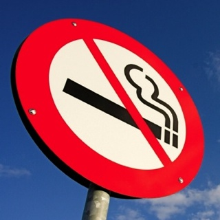 Sign to Stop Smoking Now