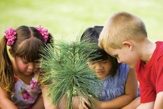 Kids Learning About Plants