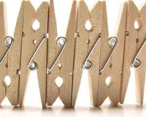 Wooden Clothes Pins