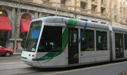 Taking the City Tram for Free