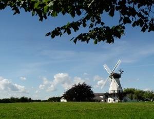 Old Fashioned Windmill