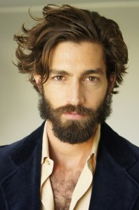Man With Beard and Head of Hair