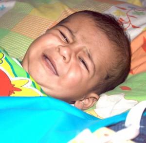Toddler Upset at Bedtime