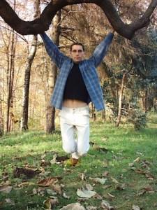 Man Hanging in Tree