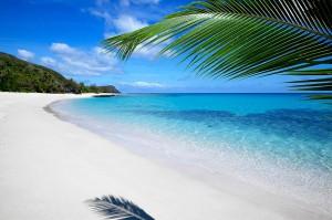 Beach on Fiji