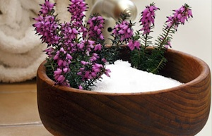 Epsom salts are a great way to remove toxins.