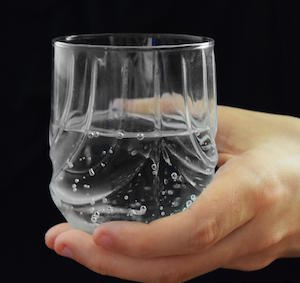 Hand Holding Glass