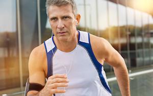 Healthy Man Exercising
