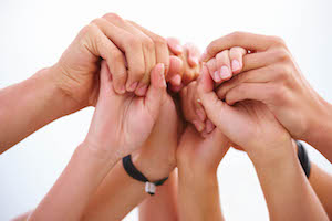 Hands Joined in Prayer