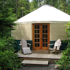 Rainier Yurt Exterior