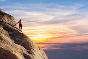 Person Climbing